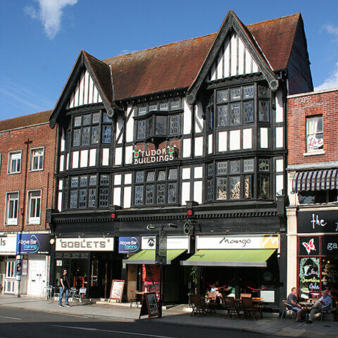 Mango Above Bar is situated in one of Southampton's few historic Tudor Buildings
